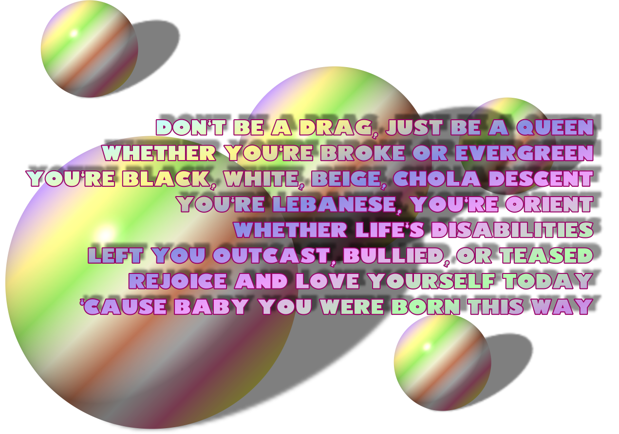 lady gaga born this way quotes - photo #33
