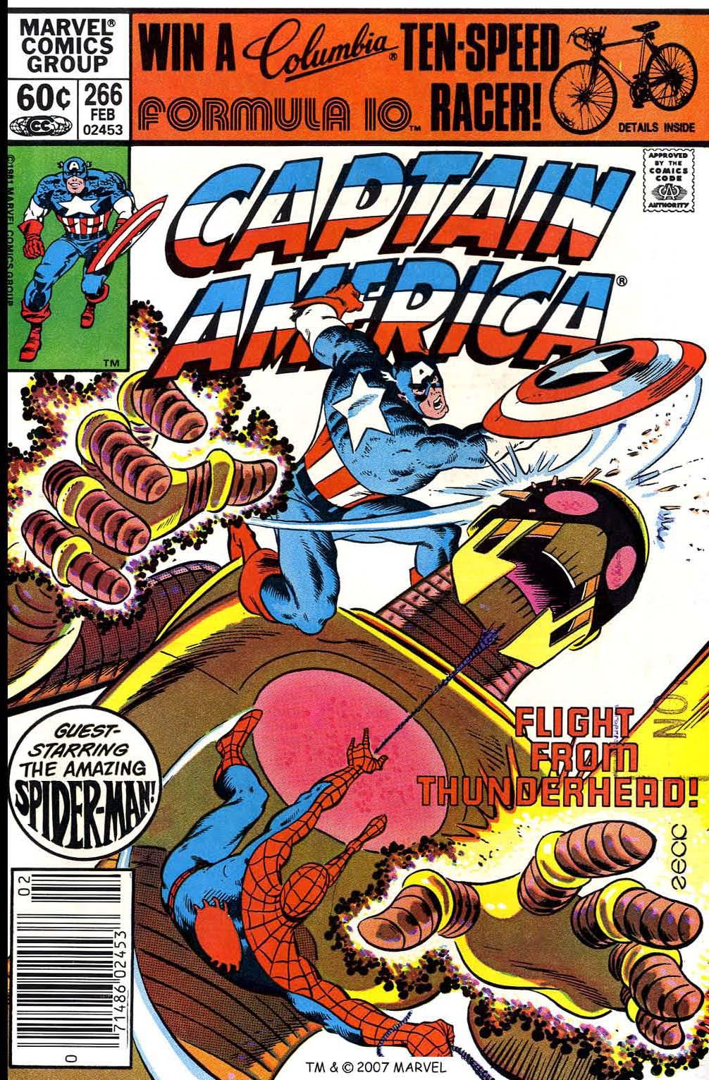 Captain America (1968) Issue #266 #181 - English 1