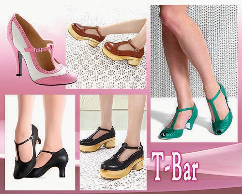 Sepatu Wanita Model T-Bar