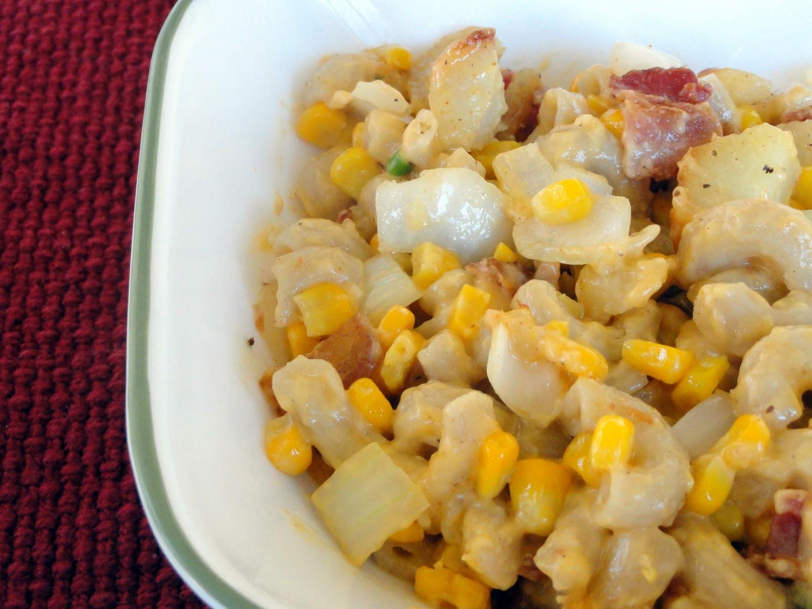 As Good As Gluten: Corn Chowder Mac & Cheese