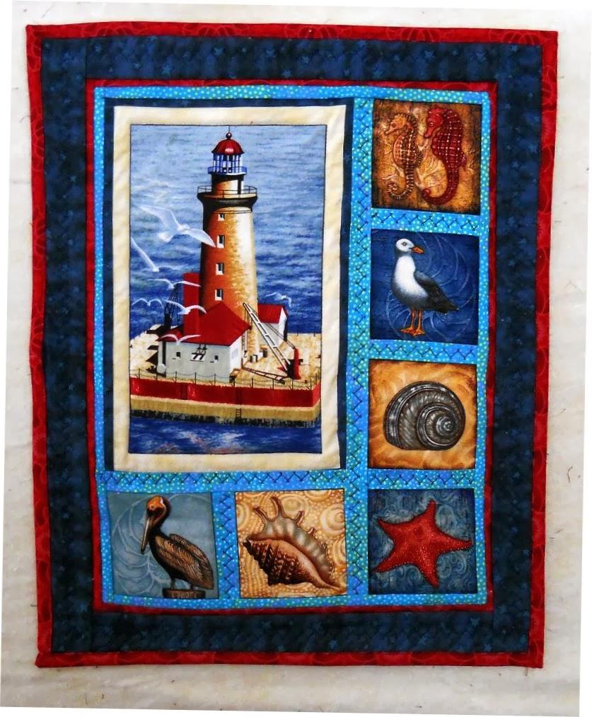 Scrapbox Quilts: Lighthouse W.H.