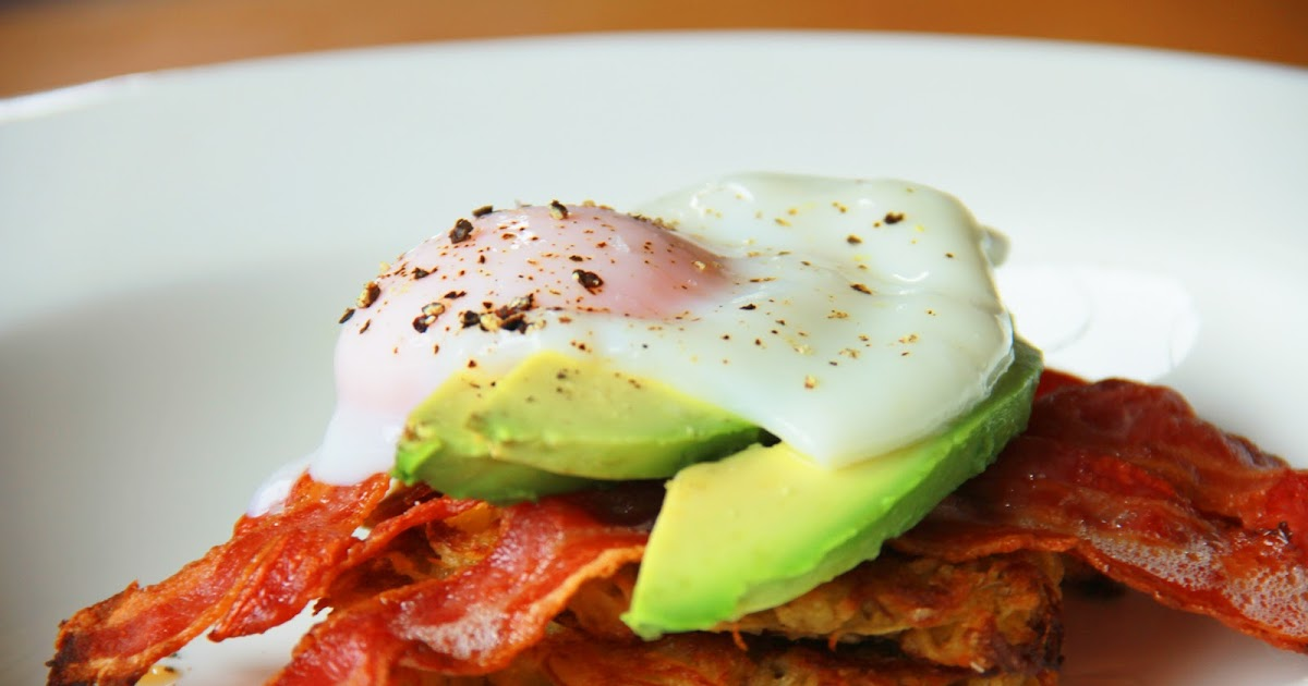 Potato Rosti with Poached Egg and Bacon Recipe