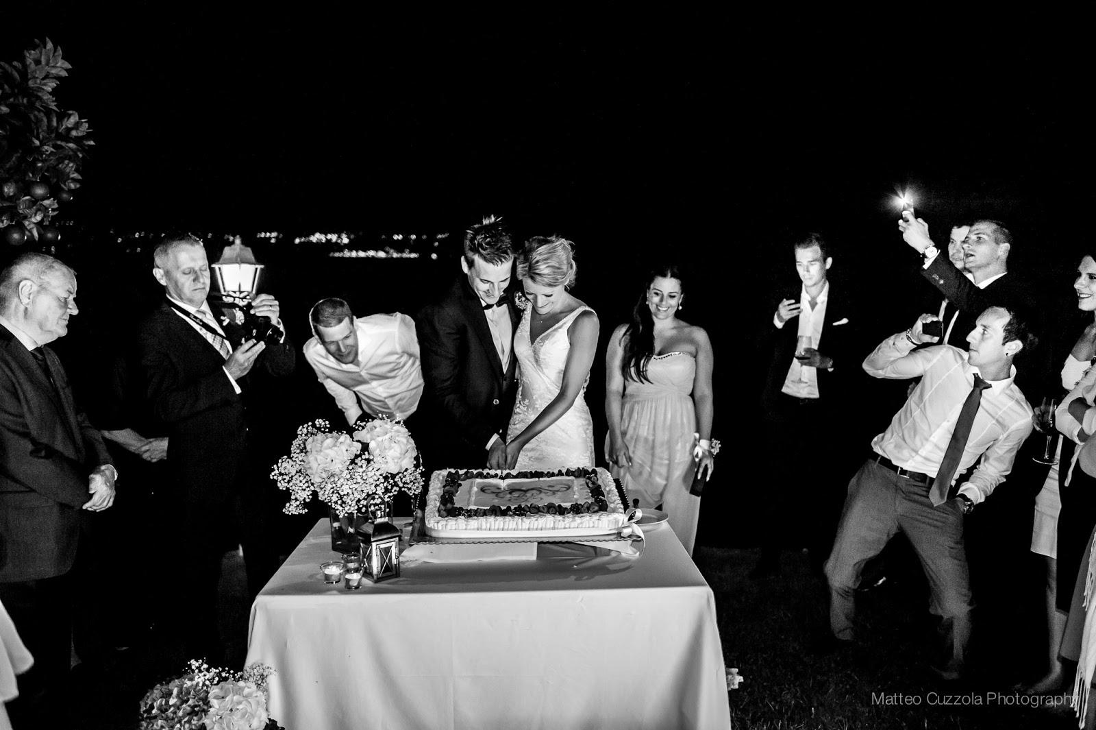 Il taglio della torta, matrimonio in Italia
