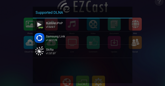 how to use ezcast app