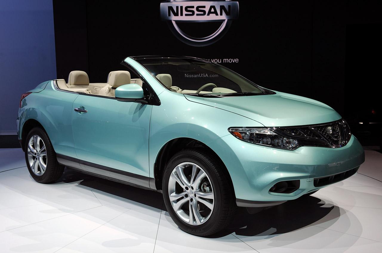 nissan murano crosscabriolet 2011 overview garage car. Black Bedroom Furniture Sets. Home Design Ideas