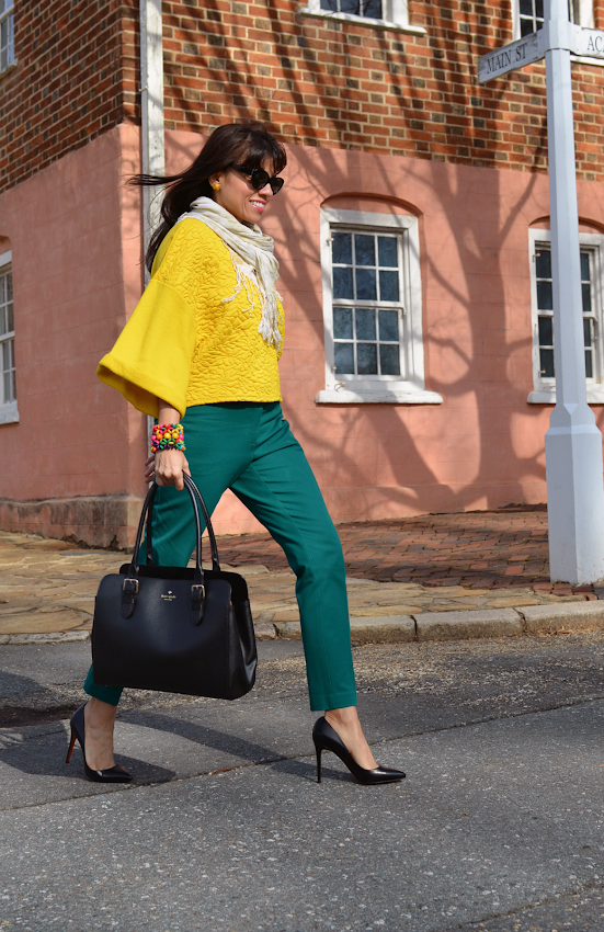color block street style