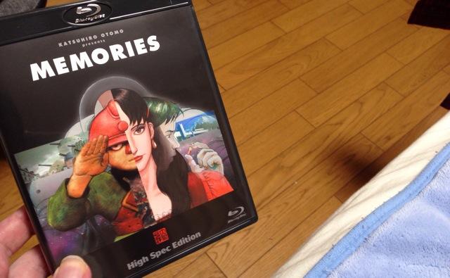 小学生の時に、『MEMORIES』を見た時の衝撃は未だに根強く残っている。大友克洋、森本晃司、岡村天斎が関わっている短篇集。