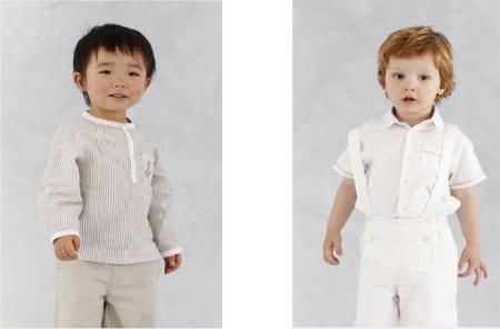 moda infantil de 0 a 1 ano
