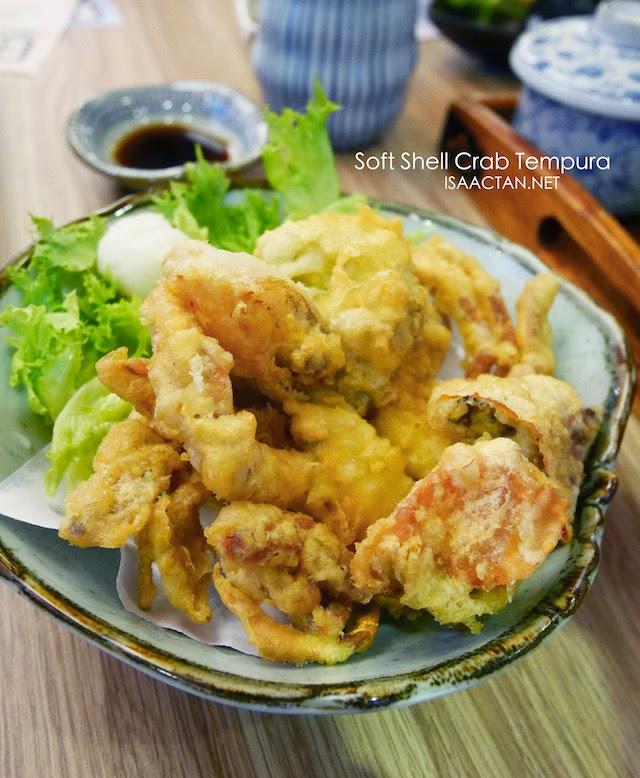 Soft Shell Crab Tempura - RM29.80