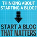 HOW TO WRITE A BLOG THAT MATTERS.
