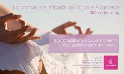 NOVO! Formaçao em Yoga e Ayurveda e-learning 250 h