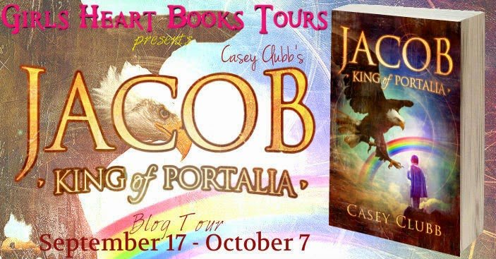 Author Interview, Excerpt, Book Soundtrack & Giveaway – Jacob, King of Portalia by Casey Clubb