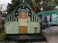Beach huts - Pulau Besar