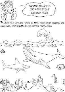 Atividades projeto fundo do mar