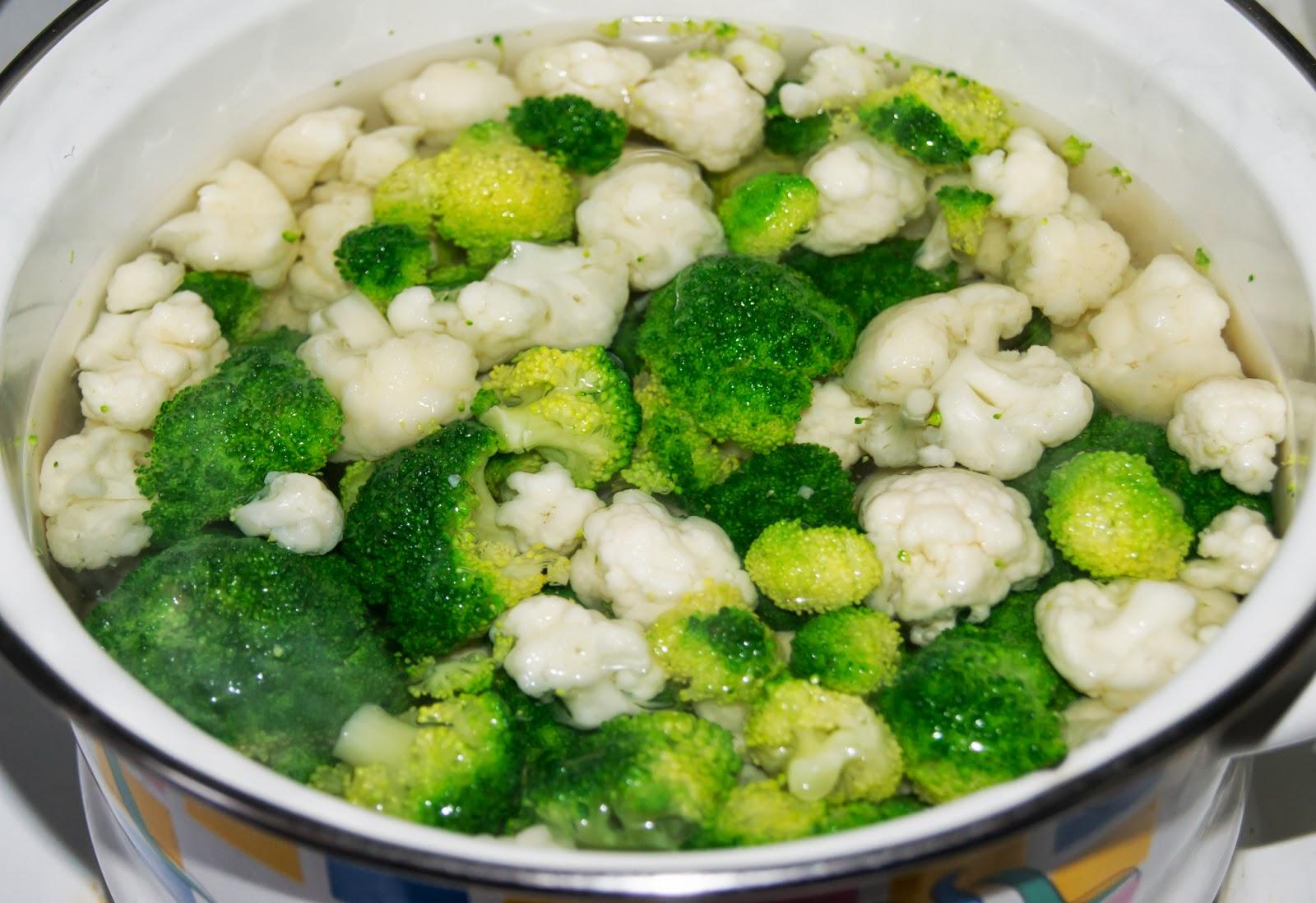 Замороженная брокколи в духовке рецепты