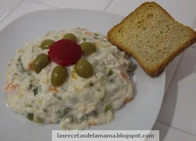 Las recetas de la mam receta de ensaladilla rusa especial - Superchef cf100 ...