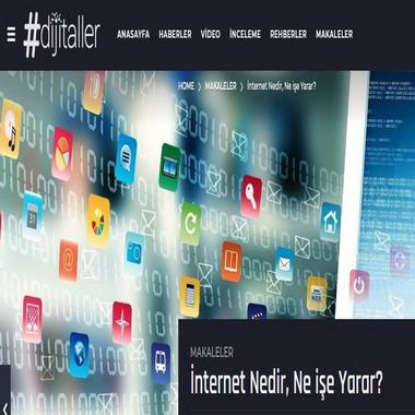 dijitaller com - internet nedir , ne işe yarar