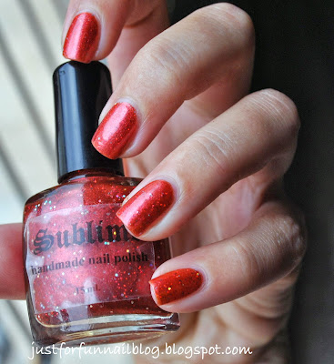 sublime nail polish - Desire swatch