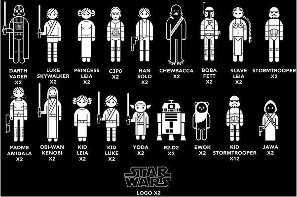 "наклейки ""Звёздные войны"" star wars stiker"