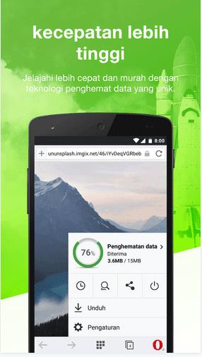Akses Internet Di Android Menjadi Lebih Cepat Dengan Opera Mini Baru
