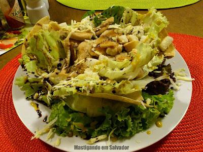 Jardim Bistrô e Creperia: Salada Exbury