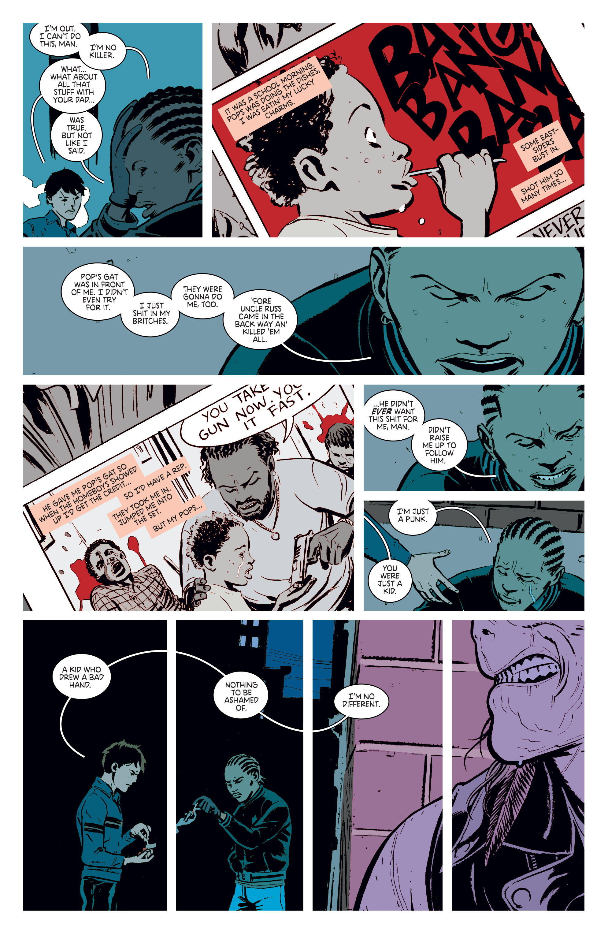 Read online Deadly Class comic -  Issue #3 - 17