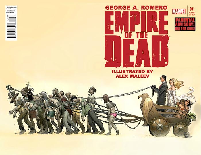 """AMC confirma """"Empire of the Dead"""" do ZOMBIE MASTER George Romero"""