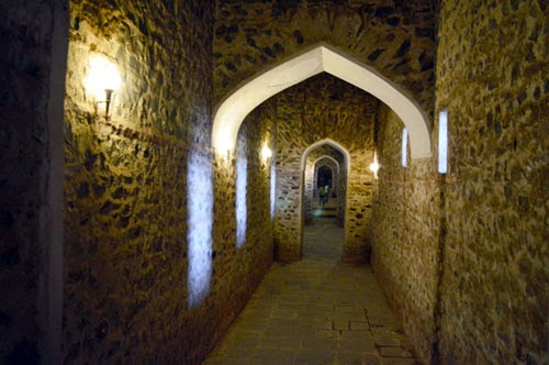 tunnel of fort