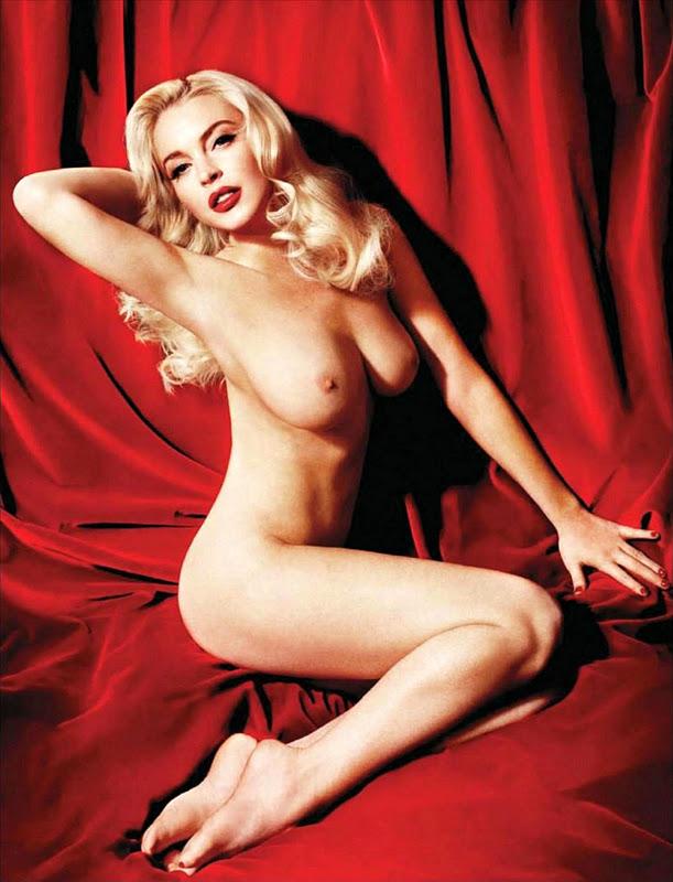 Sexy naked lindsay lohan