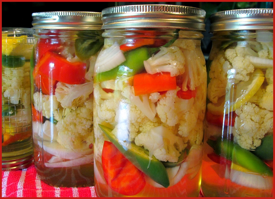 Lemony Pickled Cauliflower Recipes — Dishmaps