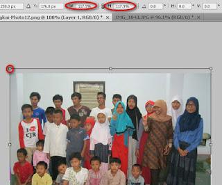Merubah ukuran photo dengan photoshop