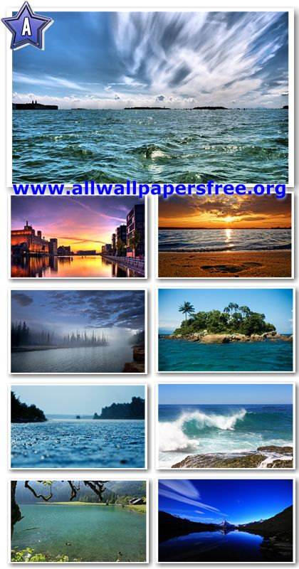 30 Stunning Waterscapes Widescreen HD Wallpapers 1920 X 1200 [Set 7]