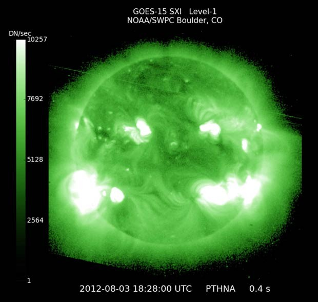 Supertempestade solar pode atingir a Terra