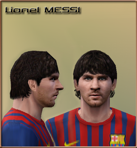 Face Messi Update By Minhanh158   PES 6