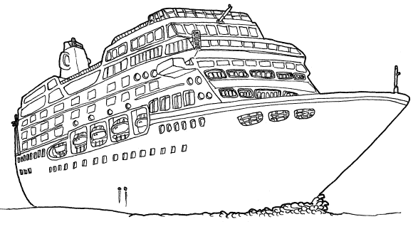 Dibujos de cruceros para colorear - Imagui