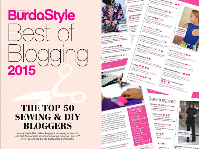 BurdaStyle Best of Blogging 2015 | www.stinap.com