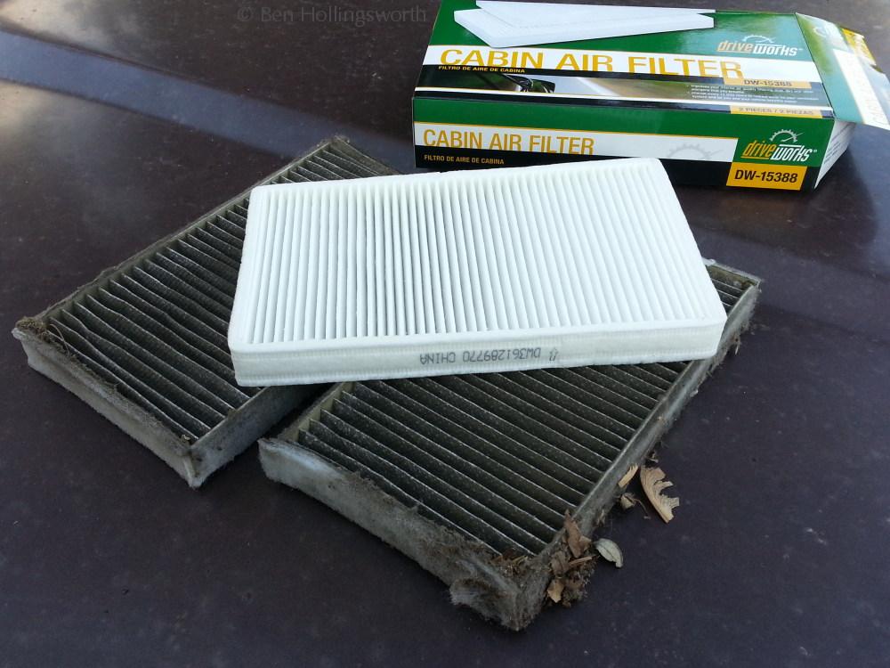 Prairie Rim Road Replacing The Cabin Air Filter In A