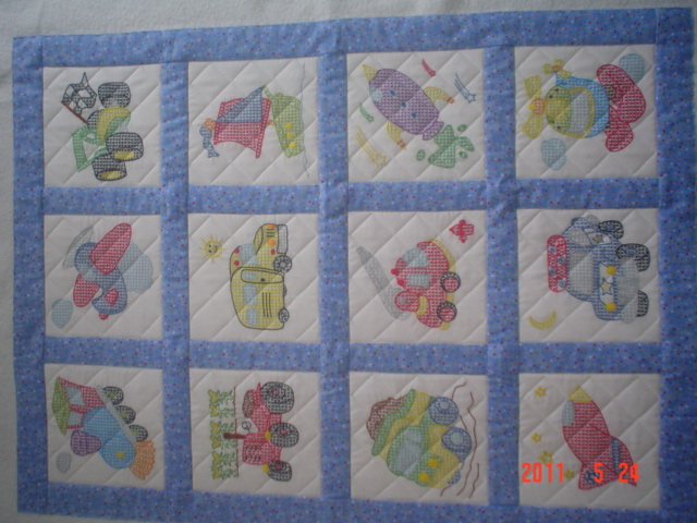 myquilter: Embroidered quilt