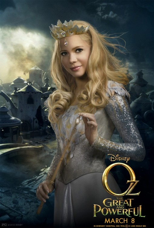 Oz Great Powerful Glinda poster