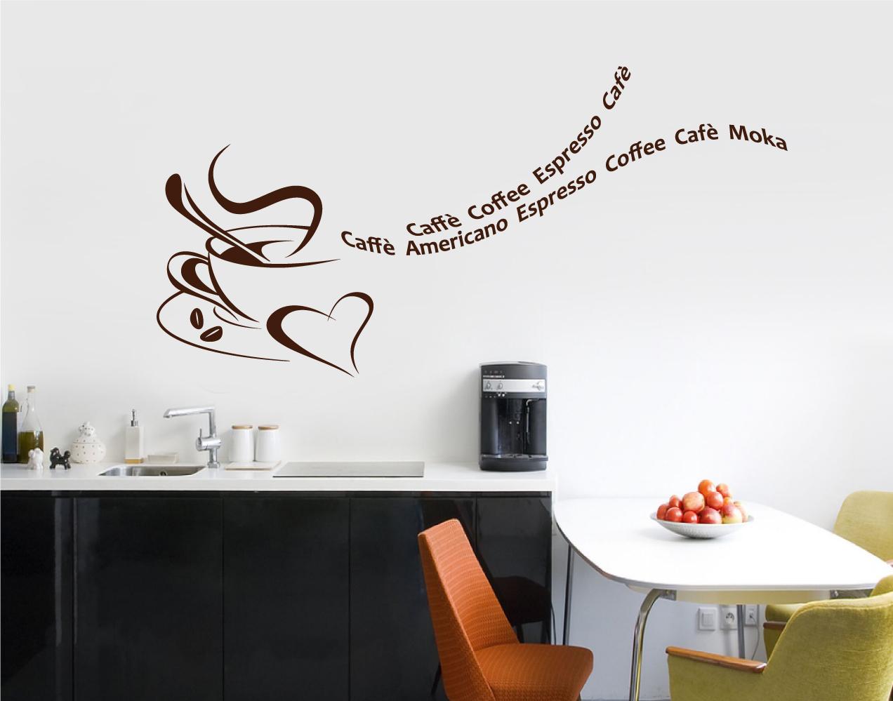 Ho scoperto gli adesivi murali amemipiacecosi fashion for Adesivi muro cucina