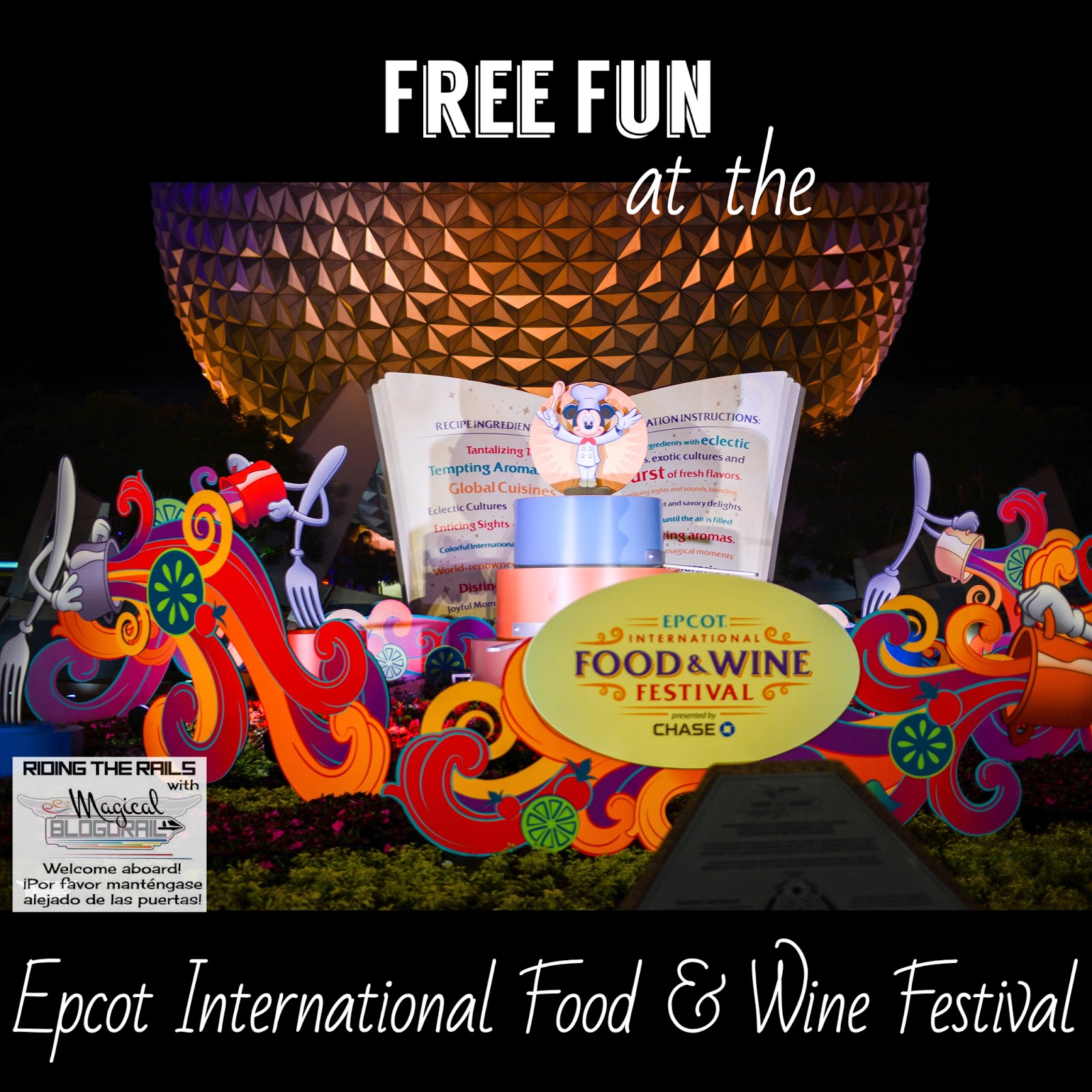 Free Fun at the Epcot International Food & Wine Festival