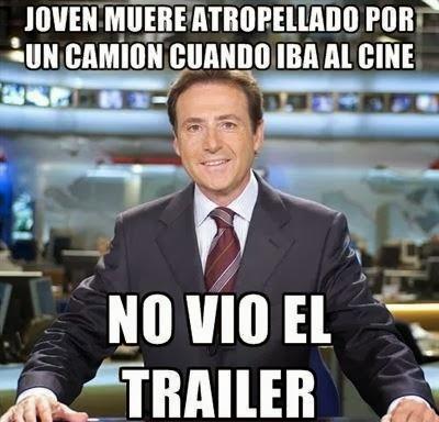 Chiste de Matías Prats: 'Joven muere atropellado por un camión cuando iba al cine'