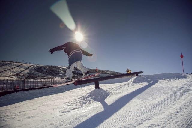 snowboard en la Covatillaimagen de GECOBESA