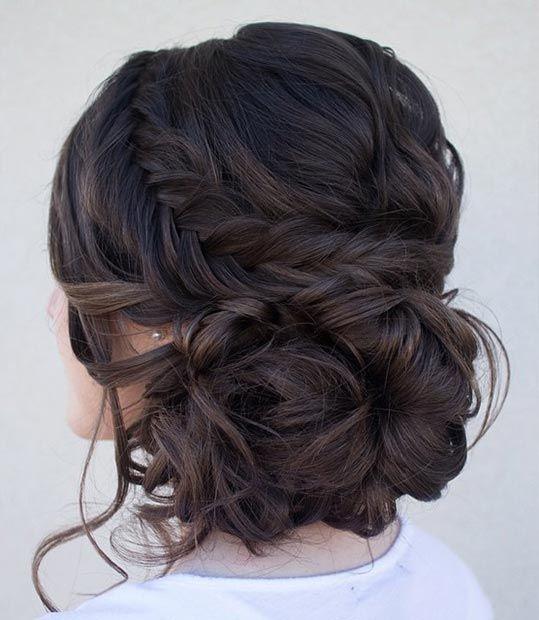 Peinados Recogidos Con Trenzas Para Fiestas - Recogidos para invitadas de boda Fotos de los mejores looks (Foto