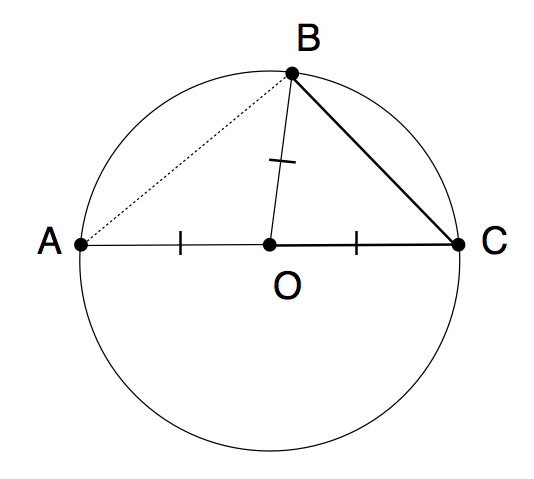 Cool Math Stuff Central Angle Theorem
