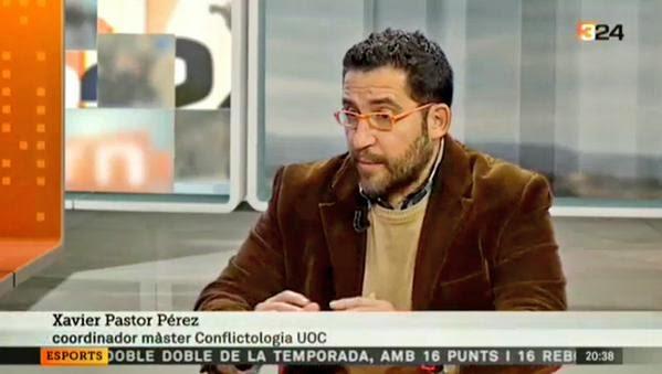 http://www.ccma.cat/tv3/alacarta/324/Entrevista-a-Xavier-Pastor-sobre-la-violencia-al-voltant-dels-camps-de-futbol/video/5393411/