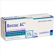 peroxido de benzoila benzac