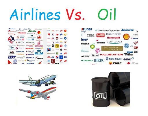 Airline vs Oil Stocks