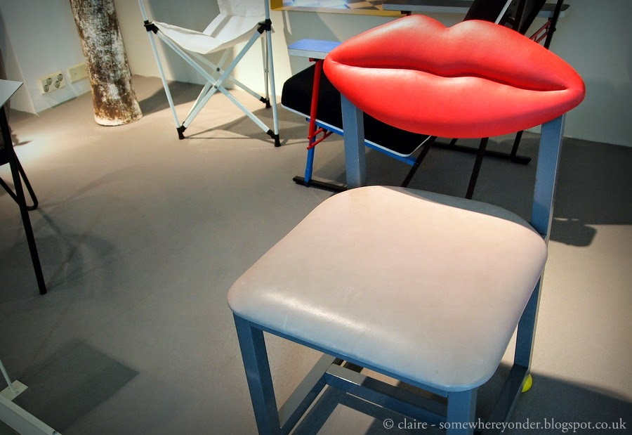 Lips Chair, Design Museum - Helsinki, Finland