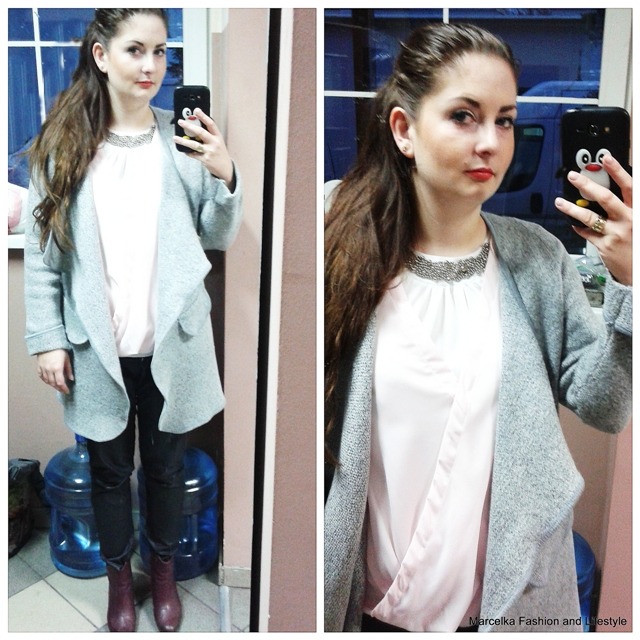 Grey Long Sleeve Loose Cardigan pictures  Grey Long Sleeve Loose Cardigan Tweet Grey Long Sleeve Loose Cardigan In Stock SKU:sweater150804220 SHEIN